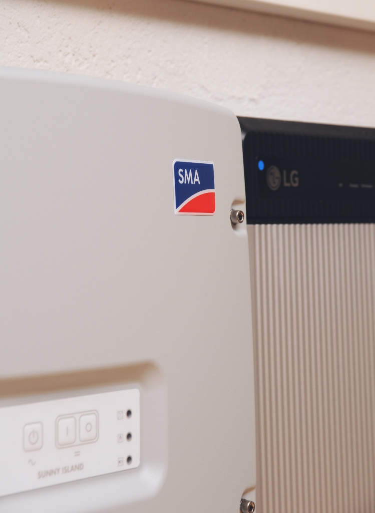 Stromspeicher LG & SMA